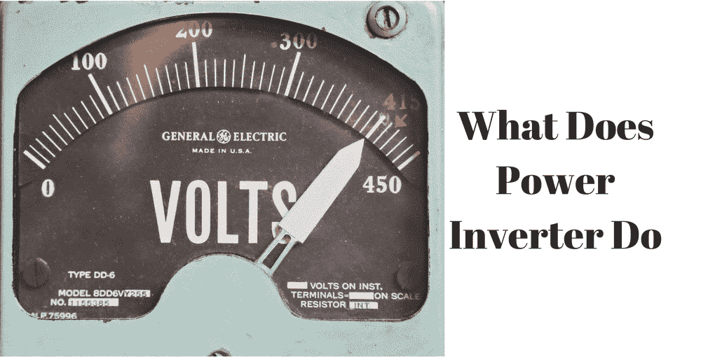what does a power inverter do